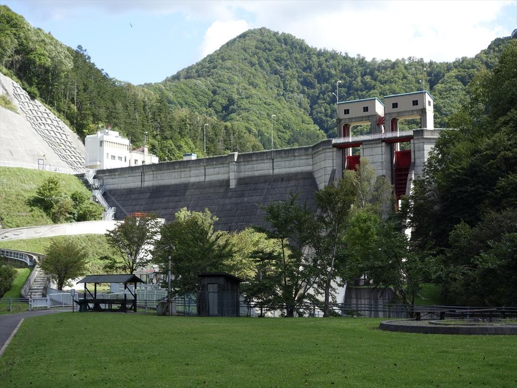様似ダム堰堤改良工事